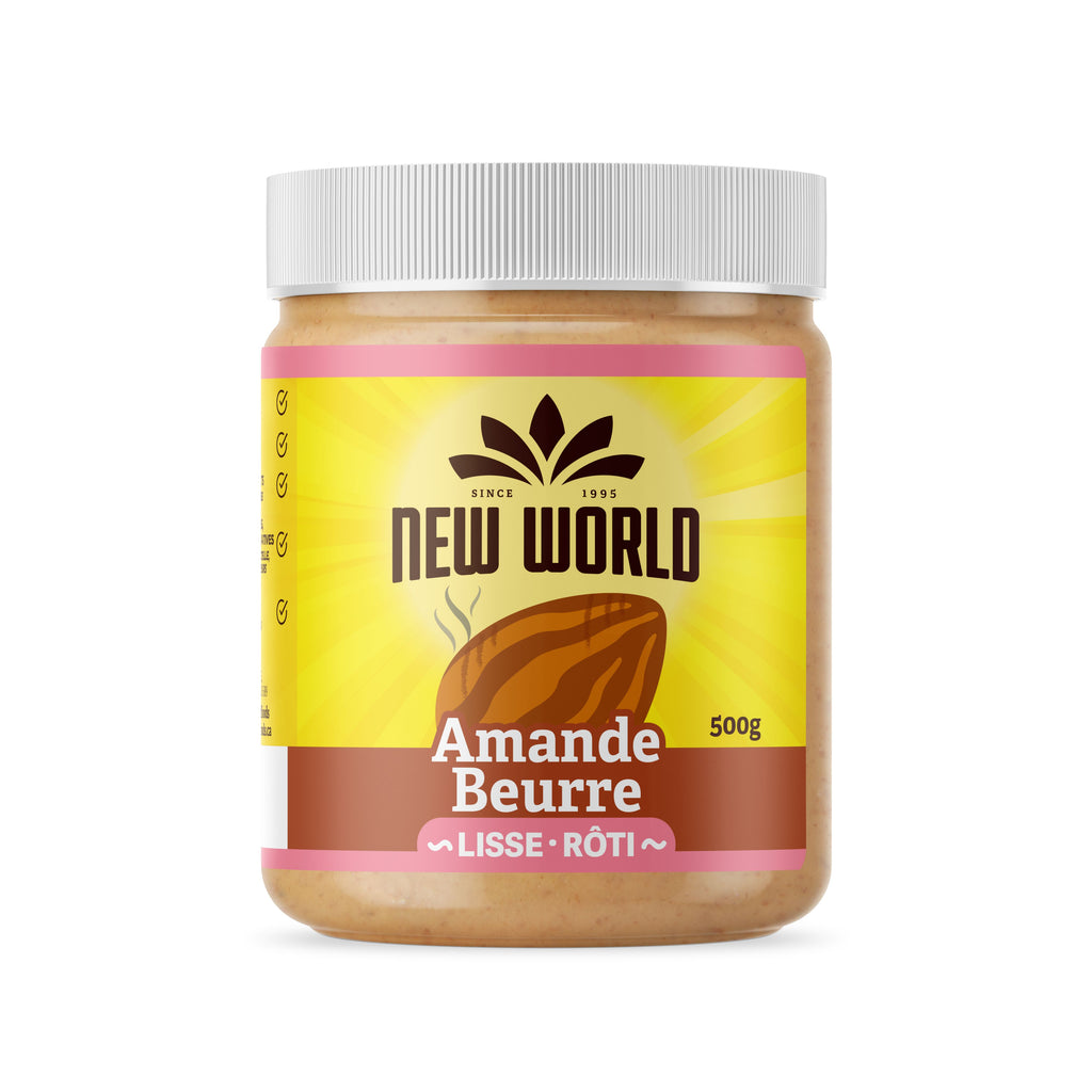Roasted Almond Butter, Smooth, Natural