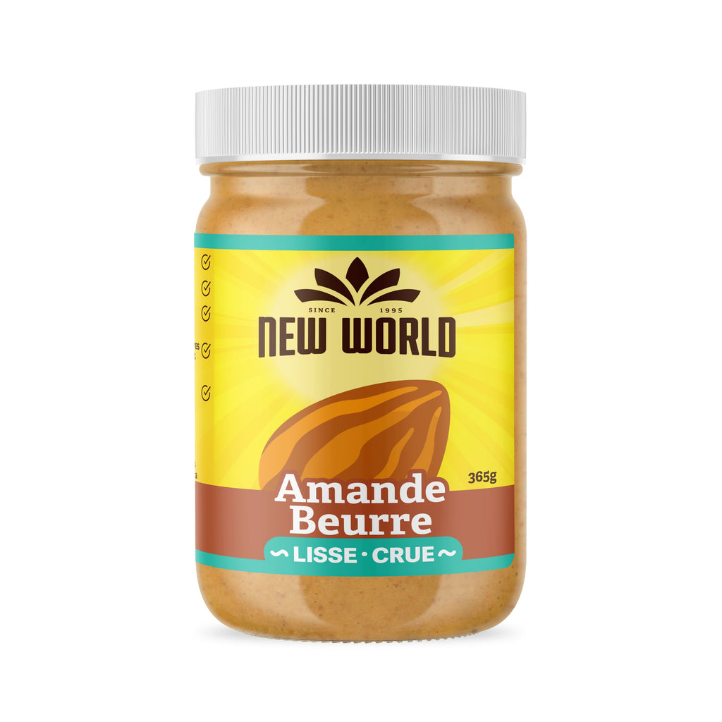 Raw Almond Butter, Natural