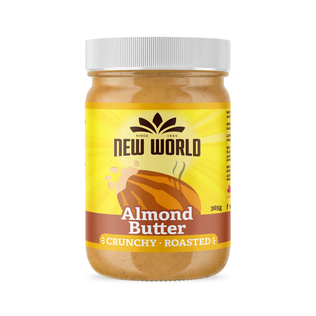 Roasted Almond Butter, Crunchy, Natural