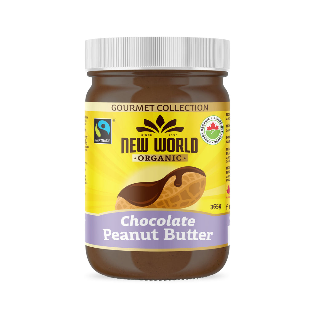 Dark Chocolate Peanut Butter Organic 365g