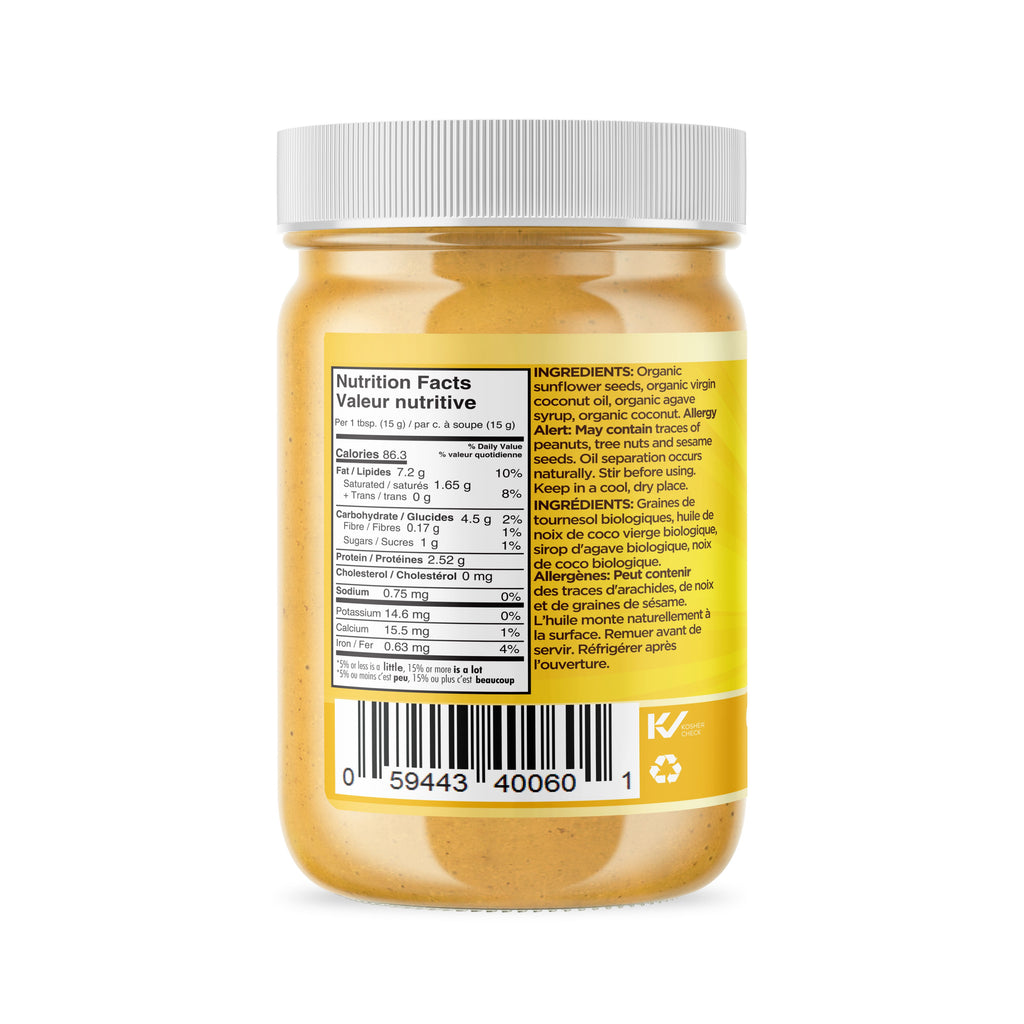 Organic Coconut Sunflower Seed Butter 365g