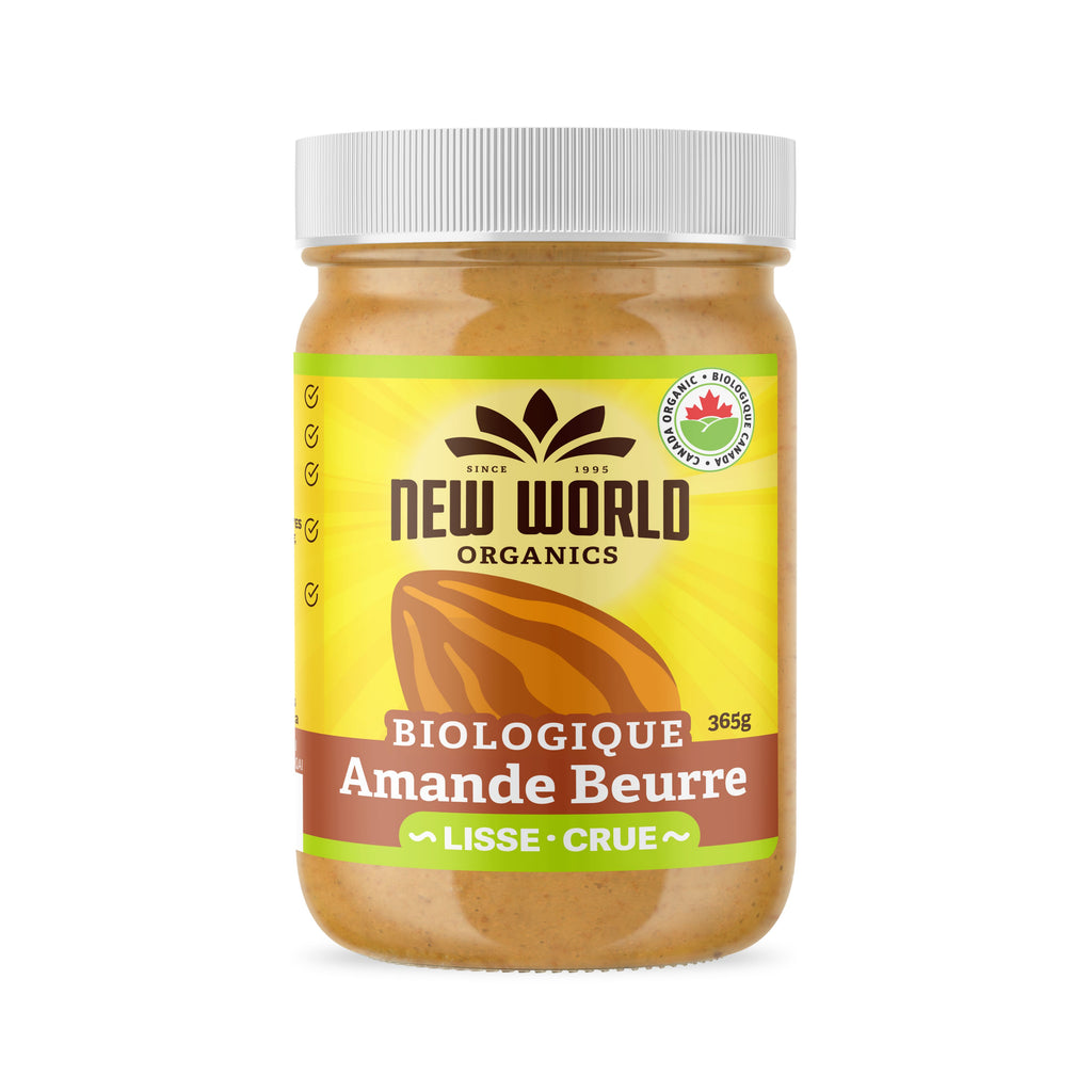 Almond Butter Raw Organic 365g