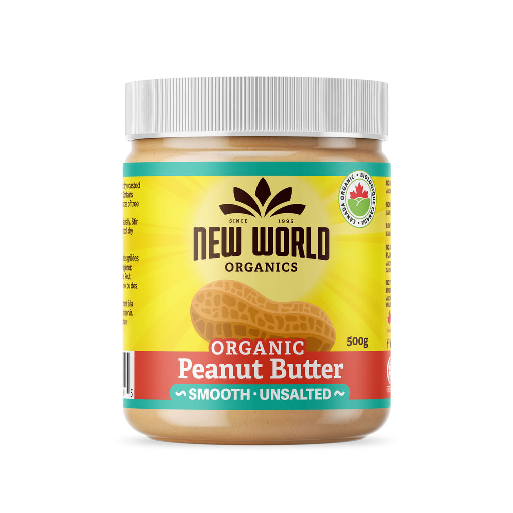 Peanut Butter, Smooth Unsalted, Organic
