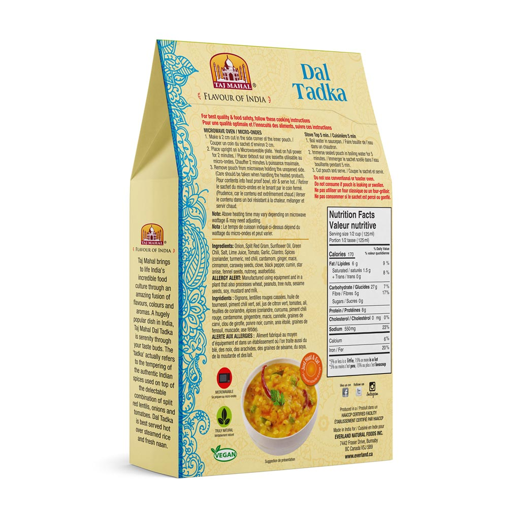 Pack of 3 Dal Tadka