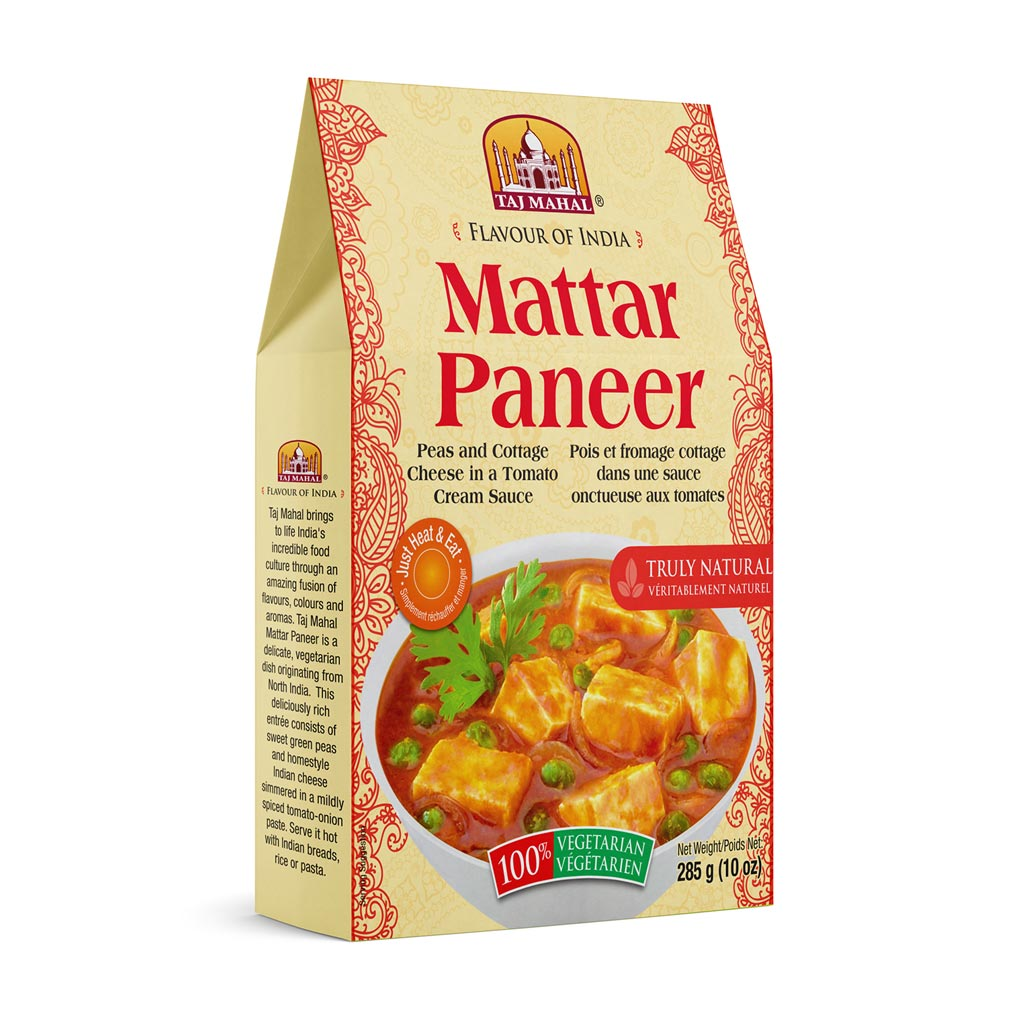 Pack of 3 Mattar Paneer (Peas/Cottage Cheese)