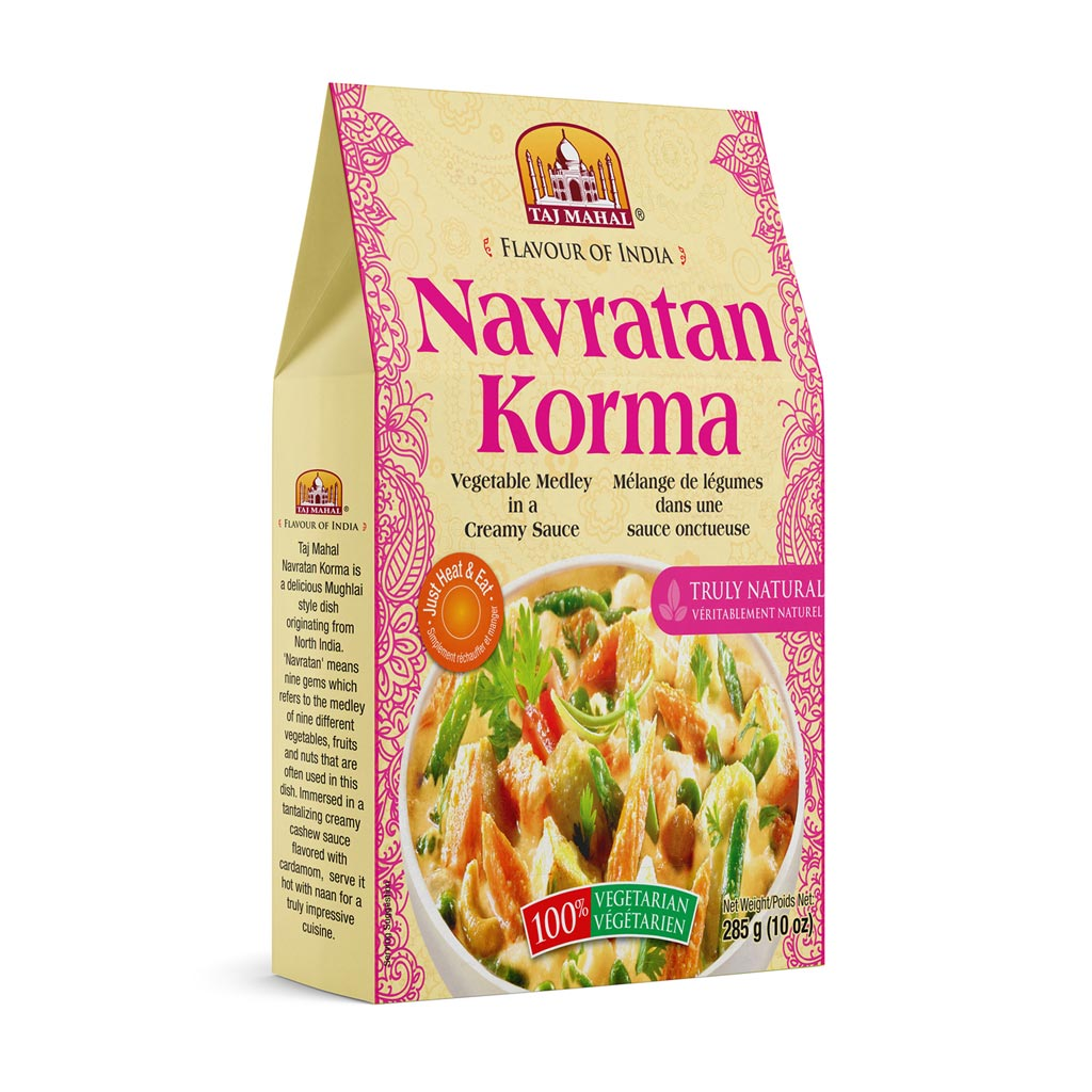 Navratan Korma (Mixed Vegetables/Cottage Cheese)