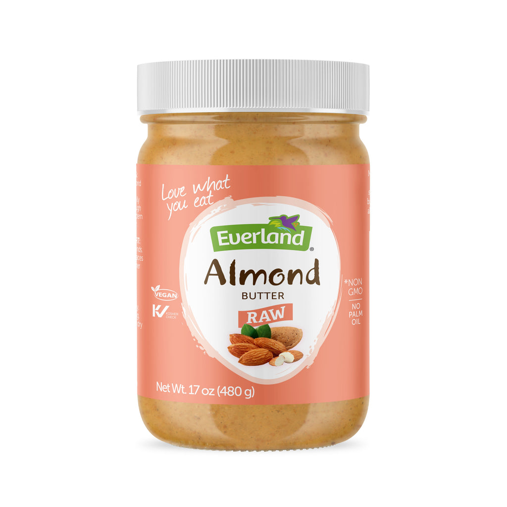 Natural Almond Butter, Raw