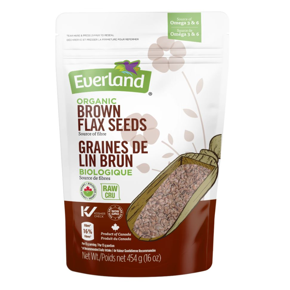 Organic Brown Flax Seeds