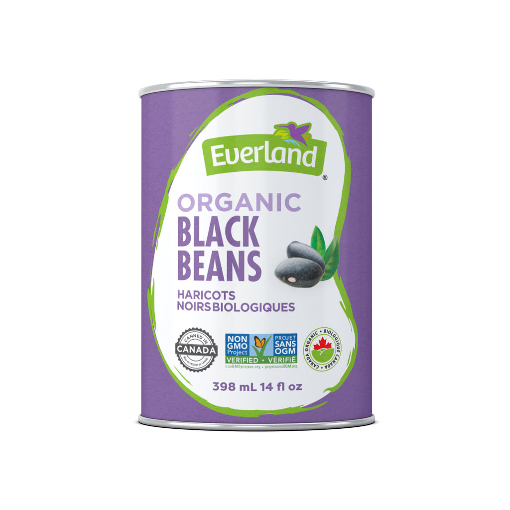 Black Beans, Organic 398ml - Pack of 12