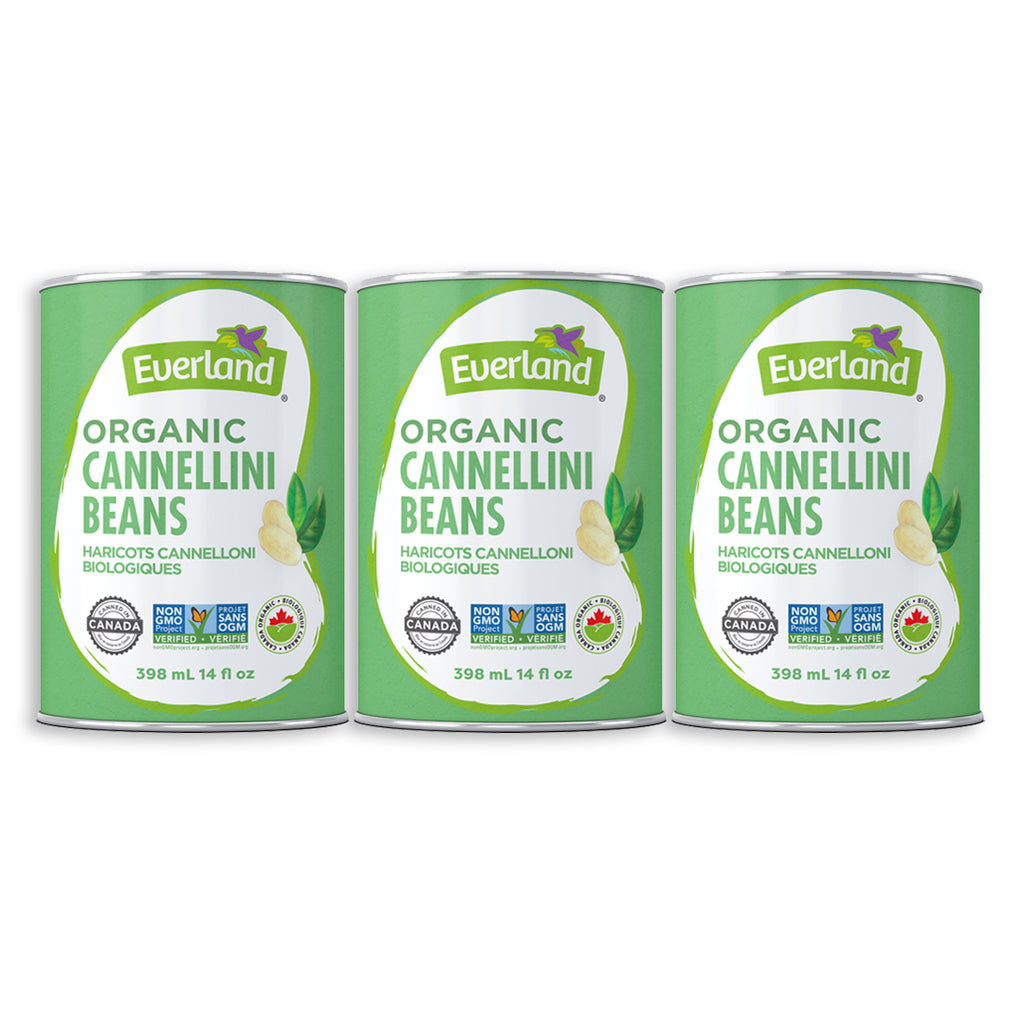 Cannellini Beans, Organic 398ml - Pack of 12