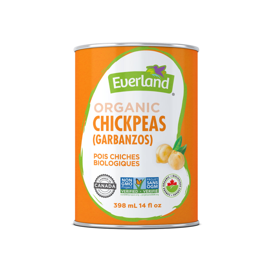 Chickpeas (Garbanzo), Organic 398ml
