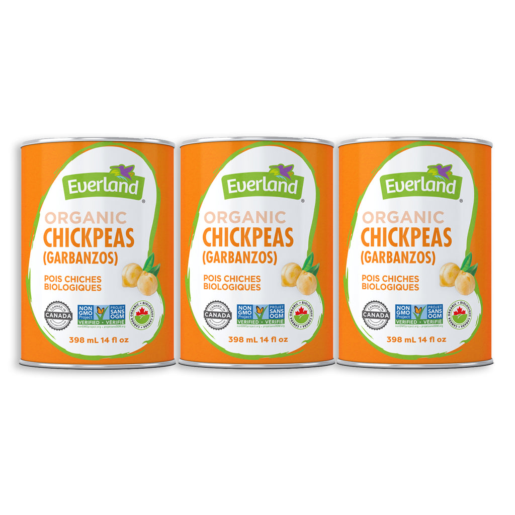 Chickpeas (Garbanzo), Organic 398ml - Pack of 12
