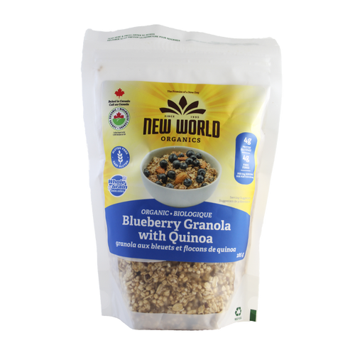 Blueberry Granola with Quinoa, Organic