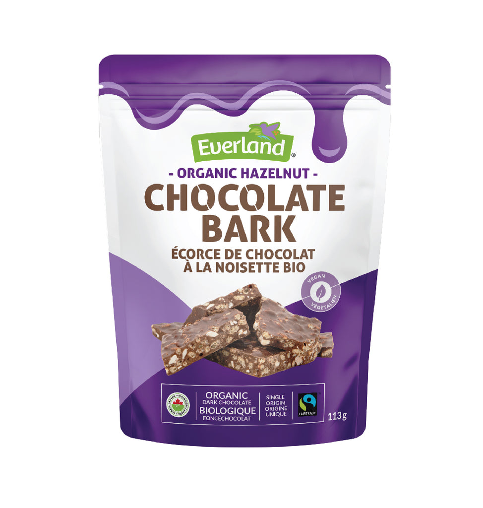 Organic Hazelnut Chocolate Bark