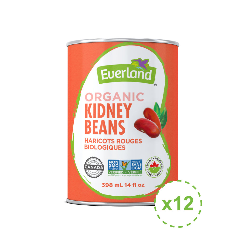 Kidney Beans, Organic 398ml - Pack of 12