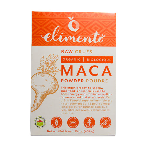 Maca Powder, Organic, Raw