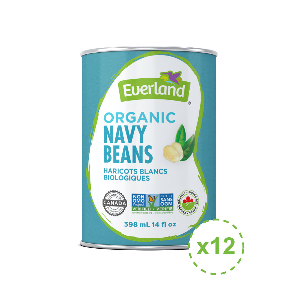 Navy Beans, Organic 398ml - Pack of 12