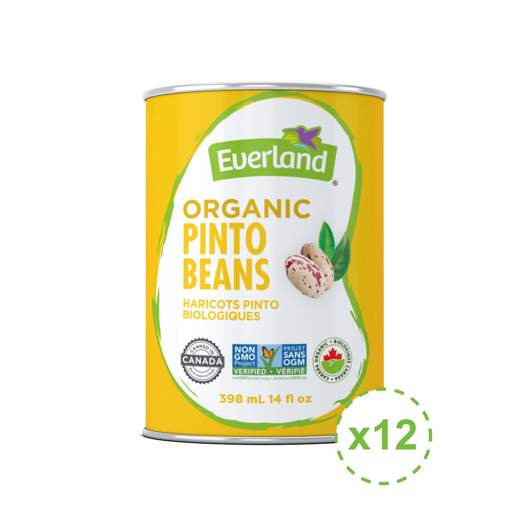 Pinto Beans, Organic 398ml - Pack of 12