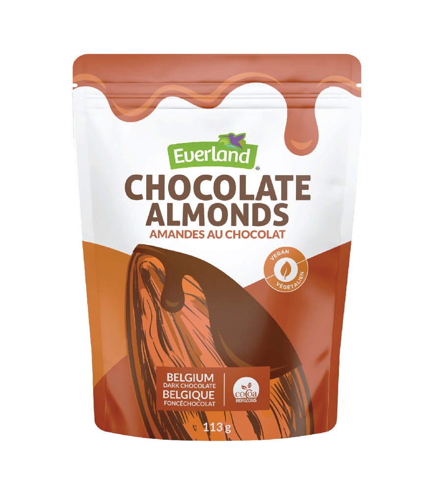 Chocolate Covered Almonds, Vegan,