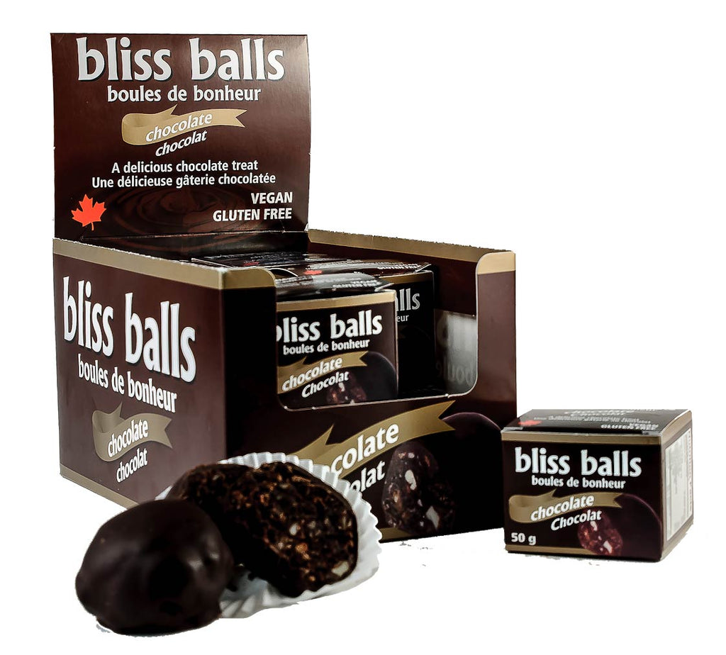 Chocolate Bliss Ball, Gluten Free, Vegan (single)