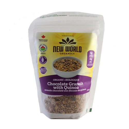 Organic Chocolate Granola with Quinoa