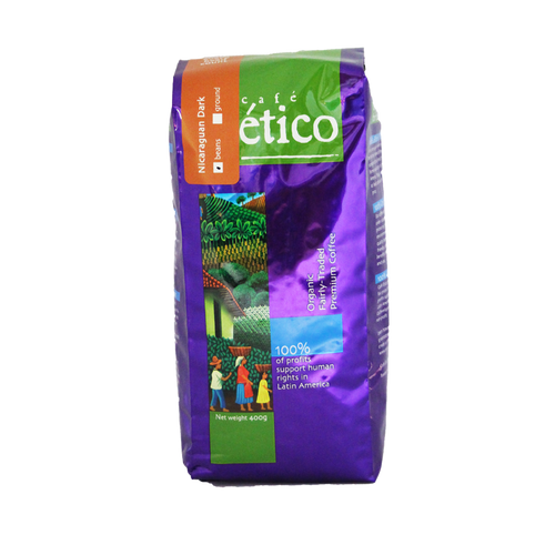 Nicaraguan Full City Whole Bean Organic - Cafe Etico Coffee