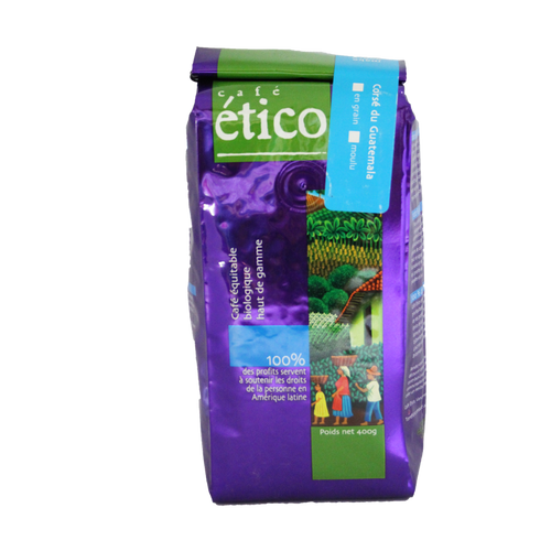 Guatemalan Dark Whole Bean Organic - Cafe Etico Coffee