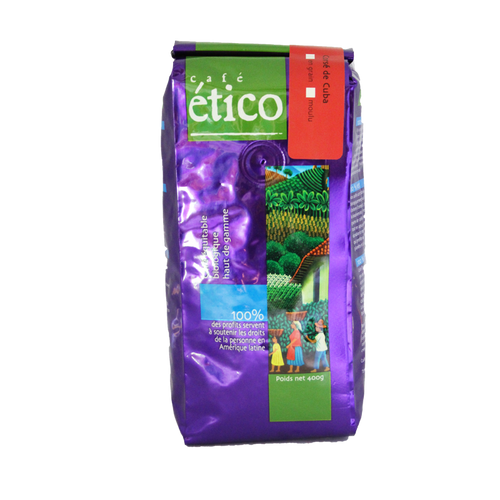 Cuban Dark Whole Bean Organic - Cafe Etico Coffee