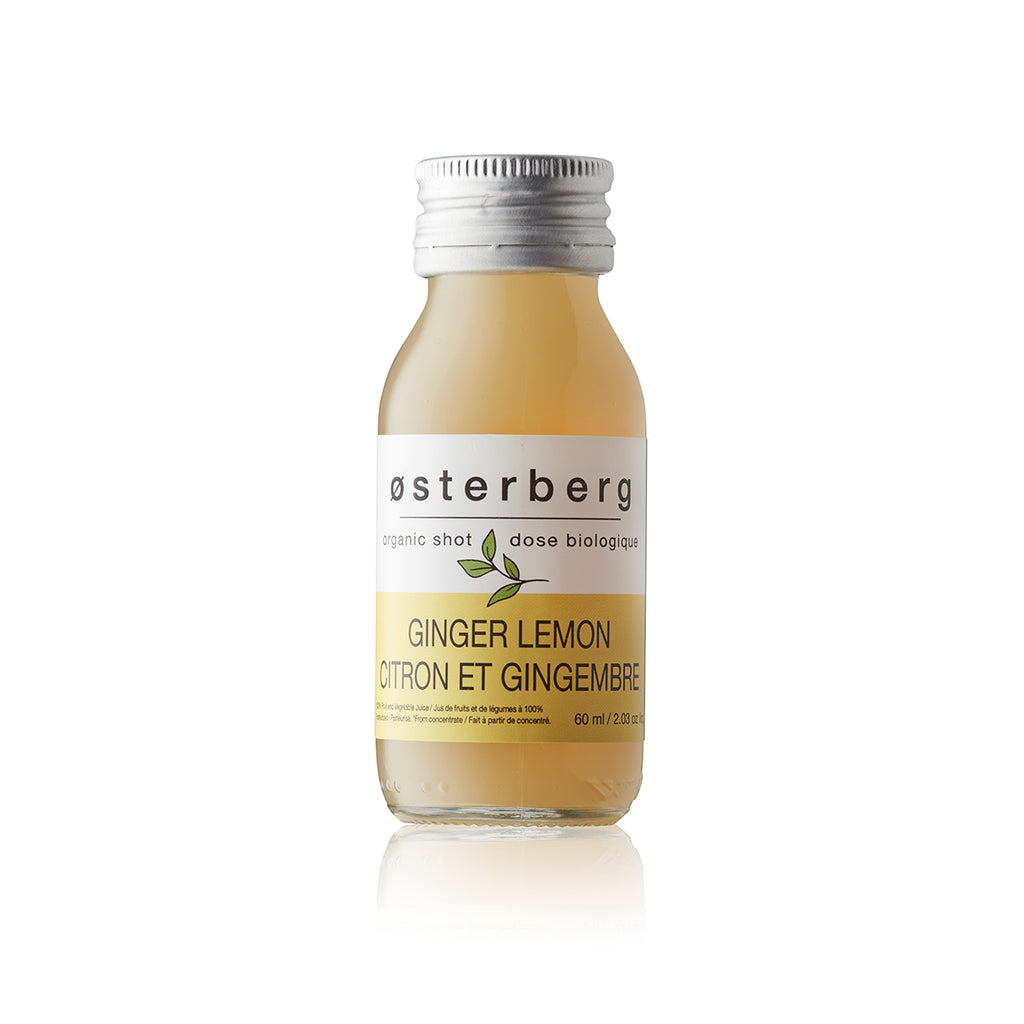 Osterberg Ginger Lemon Shots - Pack of 6