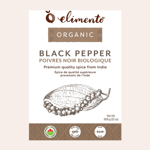 Ground Black Pepper, Organic