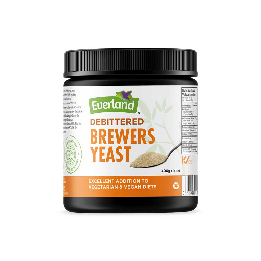 Brewers Yeast Debittered