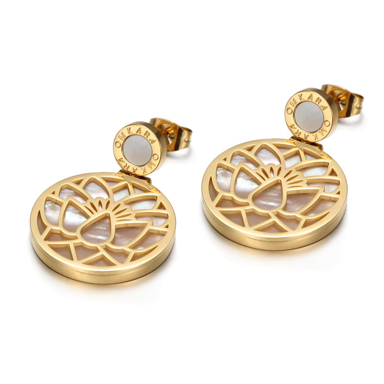 Lotus Flower Complete Purification Earrings