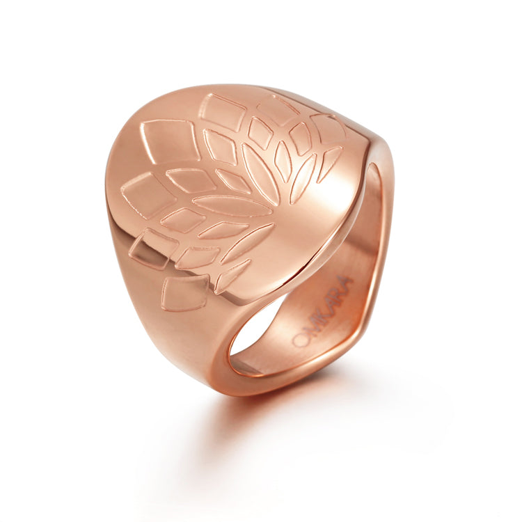 Lotus Flower Spiritual Illumination Ring
