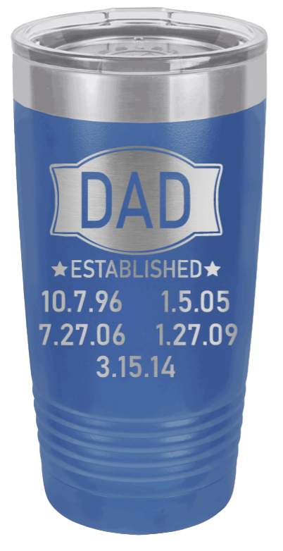Dad Established Banner (Customizable)