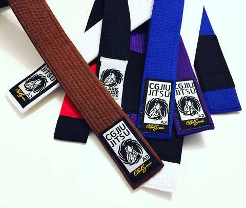 Clark Gracie Jiu Jitsu Belts - KIDS & ADULT