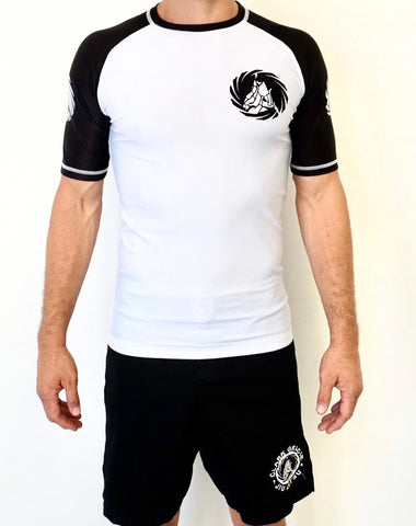 Clark Gracie Allegiance Team Rash Guard - Short Sleeve