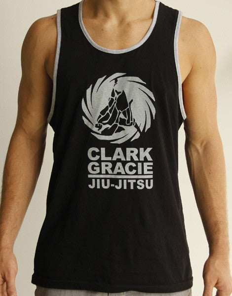 Clark Gracie Jiu Jitsu Academy Tank Top Shirt - BLACK
