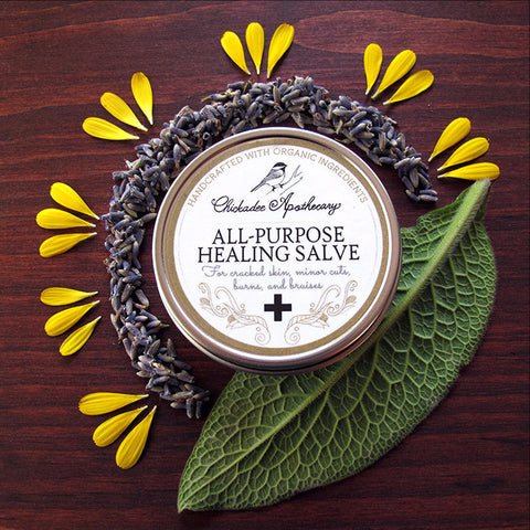 All Purpose Healing Salve - Chickadee Apothecary