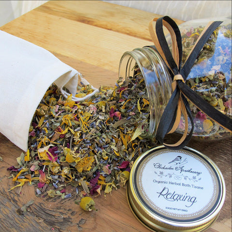 Relaxing Bath Tisane - Chickadee Apothecary