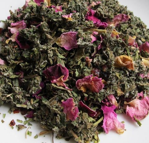 Nettle Rose Bliss Herbal Tea - Chickadee Apothecary