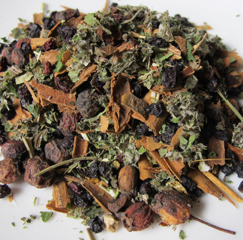 Healthy Heart Herbal Tea - Chickadee Apothecary