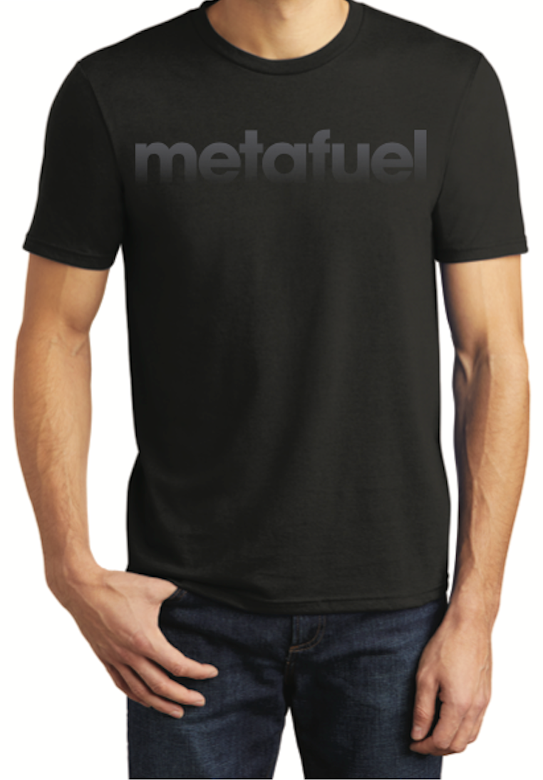 Black Metafuel T-shirt