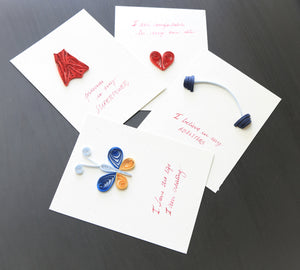 Hastkala | Handmade, paper quilled affirmation cards