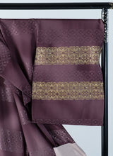 Load image into Gallery viewer, Houmongi Purple Gold-leaf Shippo Auspicious Formal Party Made-to-order