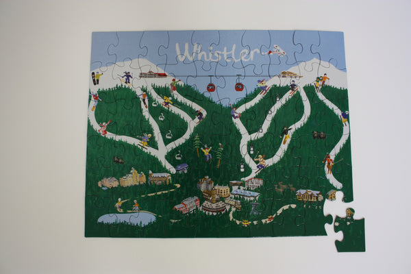 Whistler Mountain Puzzle Assembled