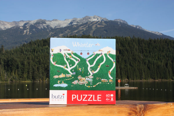 Whistler BC Puzzle featuring Whistler Mountains
