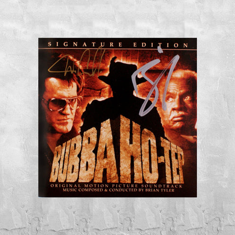 Bubba Ho-tep Autographed Soundtrack CD