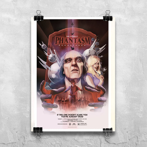 Phantasm Remastered -  Rare Commemorative Poster
