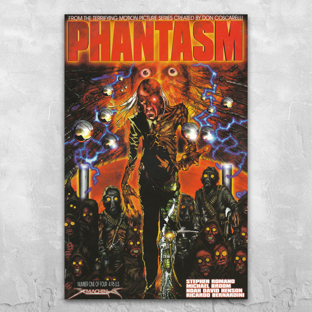 Phantasm Comic Book - Autographed