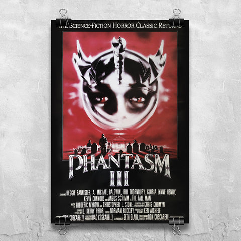 Phantasm III - Original International One Sheet